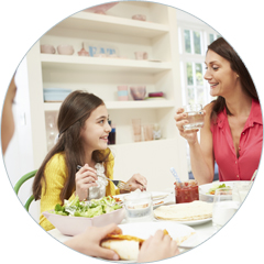 healthy eating family meals