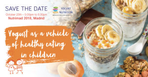 Yogurt as a vehicle of healthy eating in children