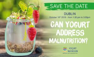 DII/YINI New symposium during FENS 2019 - Can yogurt address malnutrition?