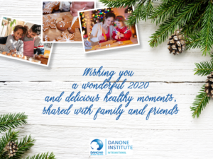 season's greeting Danone Institute international