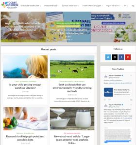 yogurtinnutrition.com website