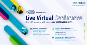 YINI Live virtual conference on sustainable diets