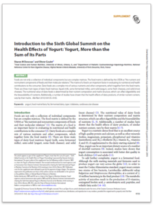 YINI Nutrition 2018 proceedings on nutrient density