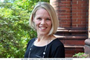 Jess Haines - laureate of DIPA 2020